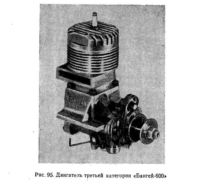 Рис. 95. Двигатель третьей категории «Бангей-600»