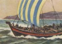 Рисунок северного русского коча