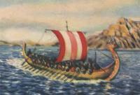 Рисунок судна дракар